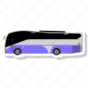 bus, school, transport, transportation icon