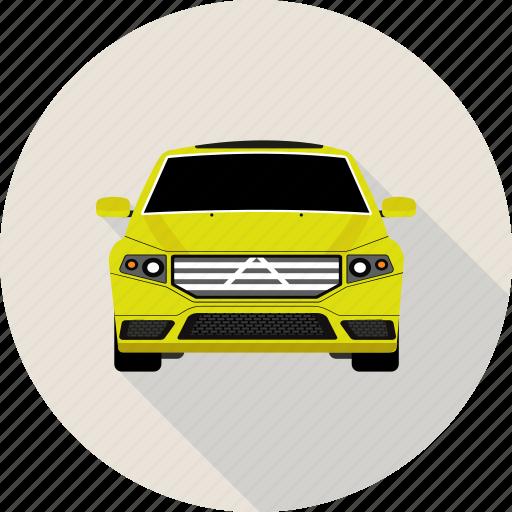 automobile, car, hatchback, vehicle icon