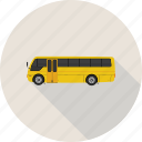 bus, school, school bus, transportation, vehicle icon