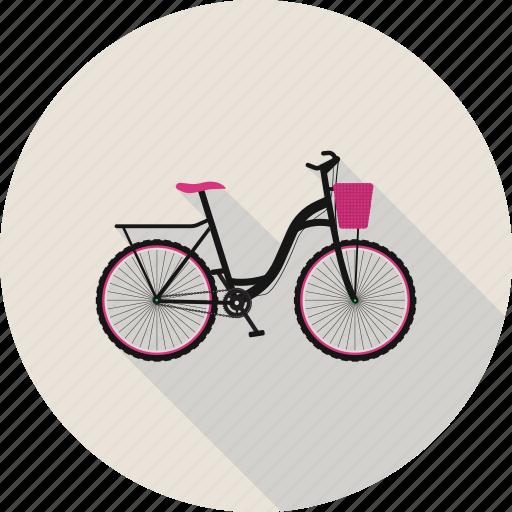 bicycle, bike, cycling icon