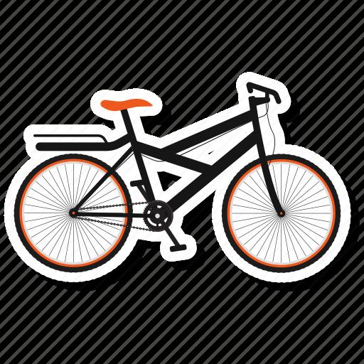 bicycle, bicycle path, bike, bike path, cycling icon