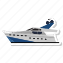 boat, speed, transport, vehicle