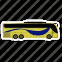 bus, luxury bus, transport