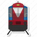 logistics, train, trasnport icon