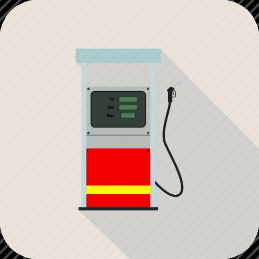 gas, gasoline, oil, pump icon