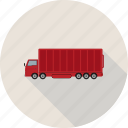 delivery, cargo, truck, shipping icon