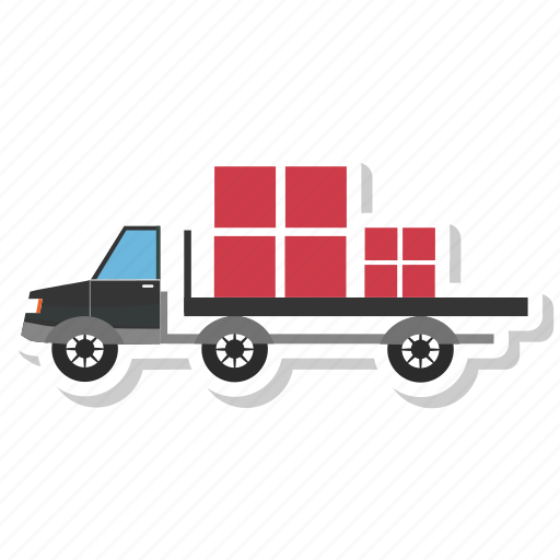 car, truck, vehicle icon