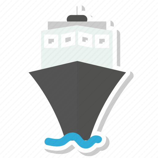 boat, sea, ship, travel icon