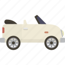 automobile, car, convertible icon