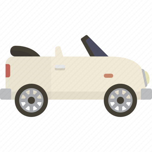 automobile, car, convertible icon