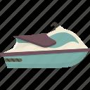 jet, jetski, ski, water icon