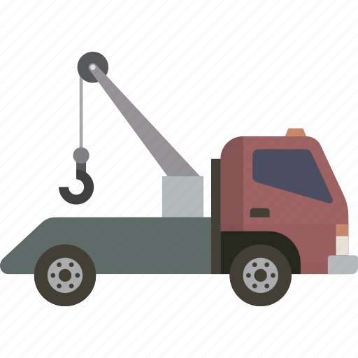 Roadside, tow, tow truck, truck icon - Download on Iconfinder