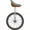 transportation, unicycle icon