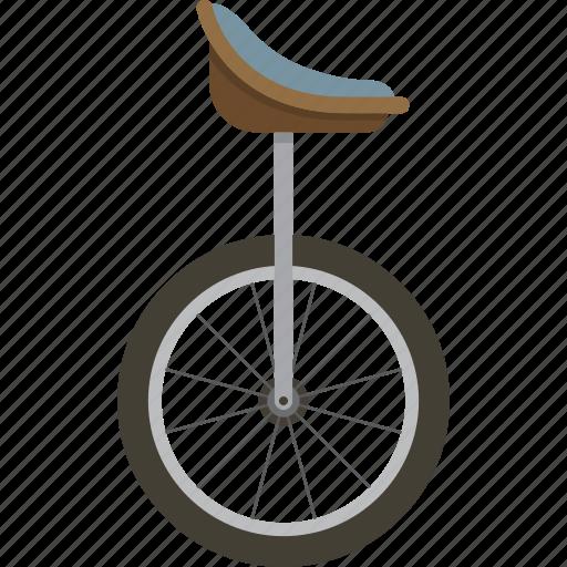transportation, unicycle icon