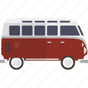 bus, car, van, volkswagon icon