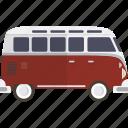 bus, van, volkswagon, car