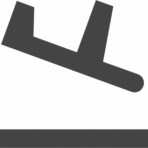 airplane, land, launch, transportation icon