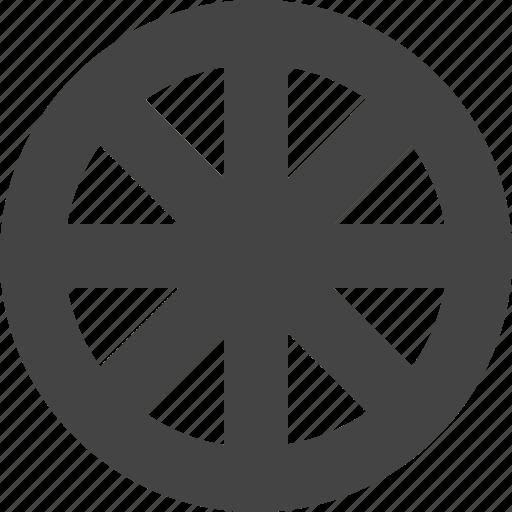 rudder, steering, transportation, wheel icon