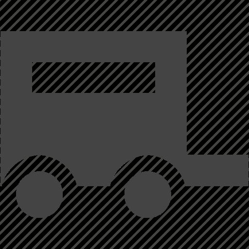attachment, module, transportation, travel, truct icon