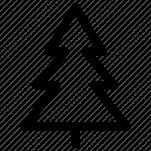 camp, christmas, holiday, tree icon