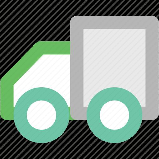 delivery truck, delivery van, hatchback, pick up van, shipping van, vehicle icon