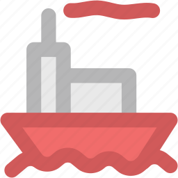 boat, cruise, luxury cruise, ship, vessel, water transport icon