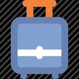 bag, baggage, luggage, luggage bag, tourism, travel, travel bag icon