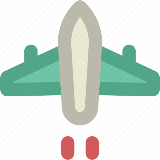 Aeroplane, aircraft, airplane, fly, jet, plane icon - Download on Iconfinder