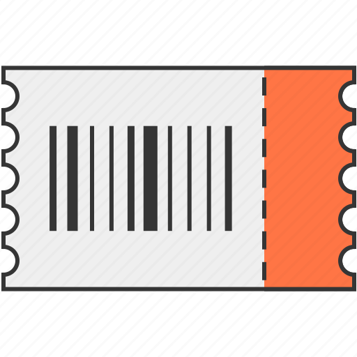 barcode, sale, ticket icon