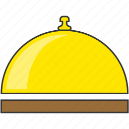 bell, hotel, ring, room service icon