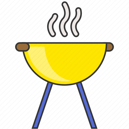 barbecue, bbq, camping, cooking, food, grill icon
