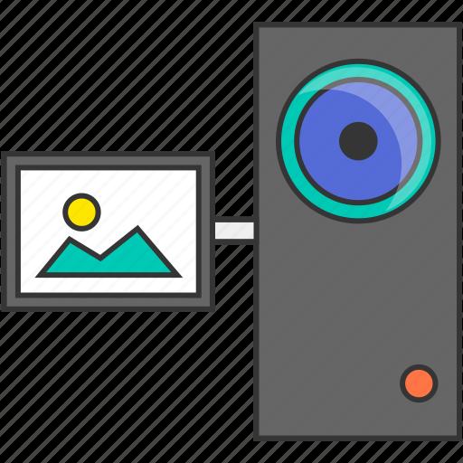 camcorder, recording, video icon