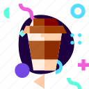 adaptive, coffee, cup, ios, isolated, material design, travel icon