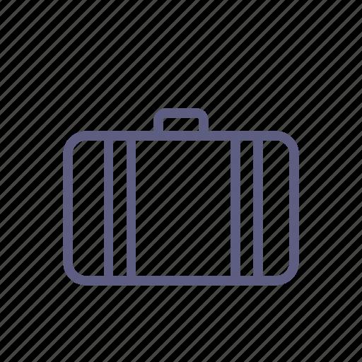 baggage, handbag, journey, luggage, suitcase, travel, valise icon