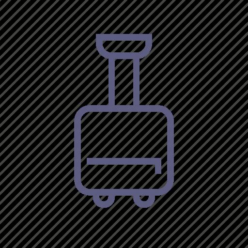 baggage, journey, luggage, suitcase, travel, valise, voyage icon