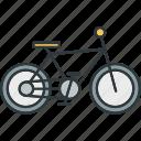 aerobics, bicycle, bike, cycling icon