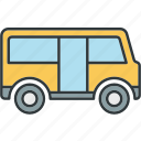 bus, car, truck, vehicle icon
