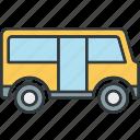 bus, car, truck, vehicle