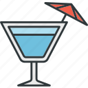 cocktail, dessert, drink, soda, wine icon