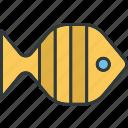 fish, tropical, food, meal, sea