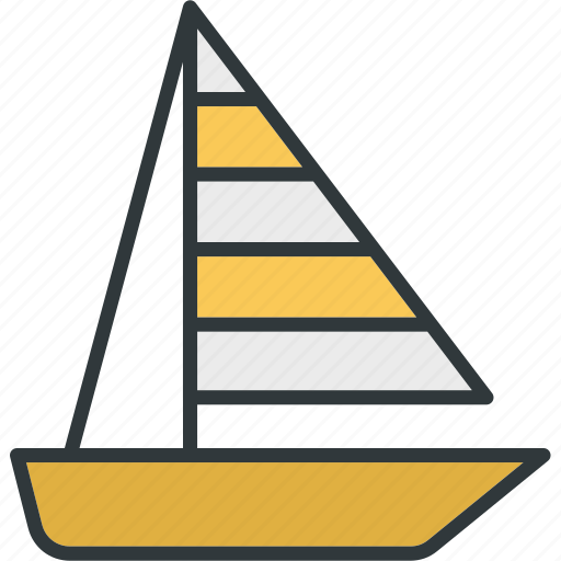 Sailing, sports, water, boat, sea icon - Download on Iconfinder