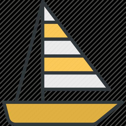 boat, sailing, sea, sports, water icon