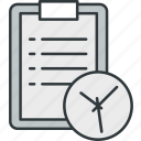 alarm, date, event, schedule, time icon