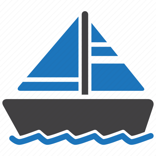 Boat, ship, sailboat icon - Download on Iconfinder