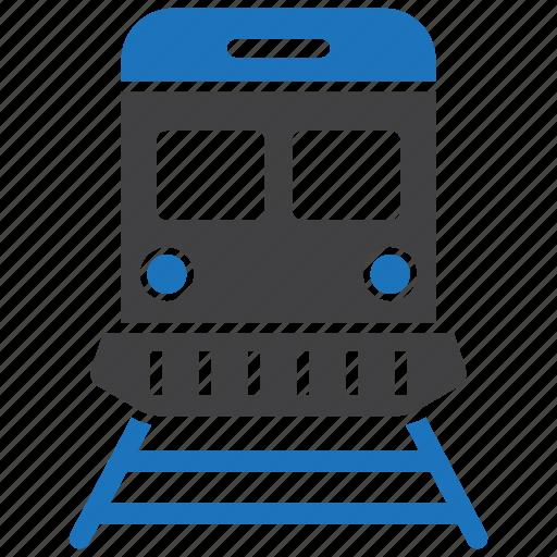locomotive, railway, train, tram icon
