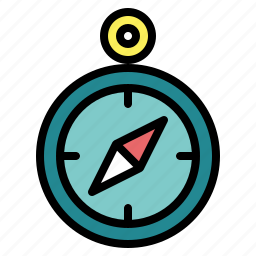 compass, gps, navigation, technology, tools icon