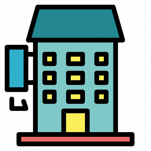 buildings, holidays, hostel, hotel, vacations icon