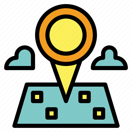 location, map, maps, place, point icon