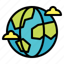 earth, geography, global, planet, worldwide icon