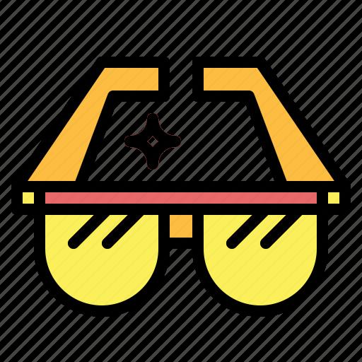 eyeglasses, fashion, glasses, summertime, sunglasses icon